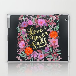 Love Never Fails -  1 Corinthians 13:8 Laptop & iPad Skin