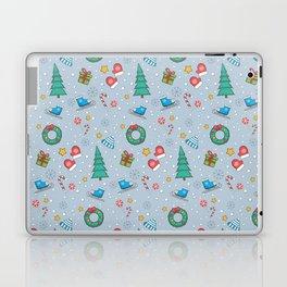 New Year Christmas winter holidays cute Laptop & iPad Skin