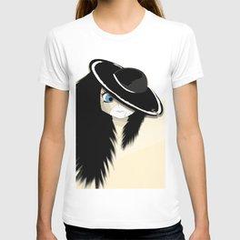 Cracked - White & Cream T-shirt