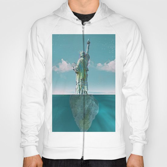 Under the statue Hoody