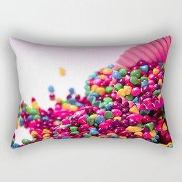 Candy Wallpaper Rectangular Pillow
