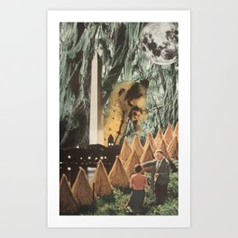 Erratic Art Print