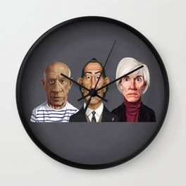 Great Artists Wall Clock