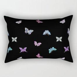 holiday, butterfly, jewels, precious, butterflies, new year, thanksgiving, Christmas, holidays, 2018 Rectangular Pillow