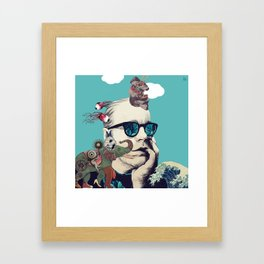 Thinking Out Loud Framed Art Print