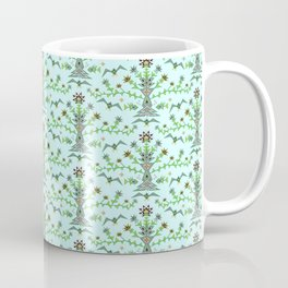 Robot birdies and fishes pattern Coffee Mug
