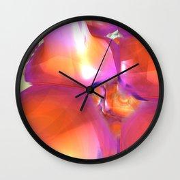 Your Friend in the Sun (3D Digital Fractal Art) Wall Clock