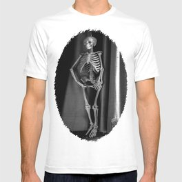 The Skeleton by the Printer T-shirt