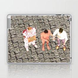 SquaRed: Three of Us Laptop & iPad Skin