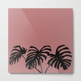 modern pink Metal Print