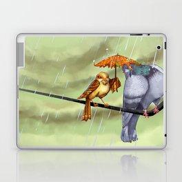 Birds on a Wire Laptop & iPad Skin