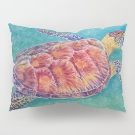 Sea Turtle Watercolor Pillow Sham