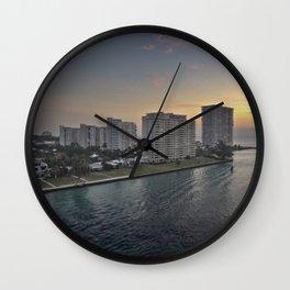 Dawning Day Wall Clock
