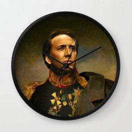 Nicolas Cage - replaceface Wall Clock