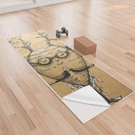 Namaste Radish Yoga Towel
