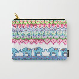 Tiny Circus Elephants Carry-All Pouch