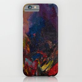 'Sunrise in the mountains, picos de asturias' by David Bomberg iPhone Case
