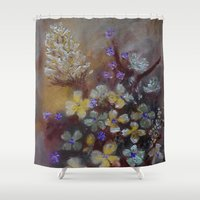 grace Shower Curtains featuring Grace by RokinRonda