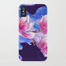 Magnolia night iPhone Case