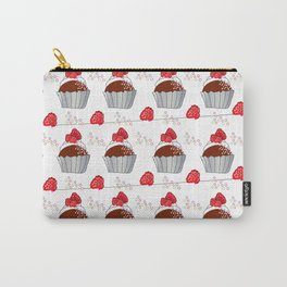 Raspberry Cupcake Carry-All Pouch