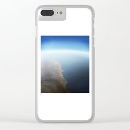 Earth | Heart_2 Clear iPhone Case