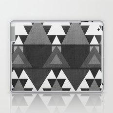 Aztec Grey Laptop & iPad Skin