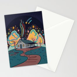 I found my way back home Stationery Cards