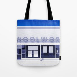 F.W. Woolworth All White Tote Bag