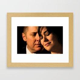 A love that knows no boundaries. Framed Art Print