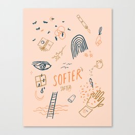 Softer, softer-Chapter 1 Canvas Print