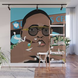The Notorious BIG Wall Mural
