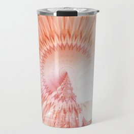 Mandala abstract landscape Travel Mug