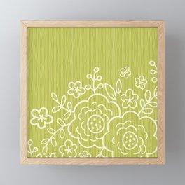 Sweet Blossoms Framed Mini Art Print