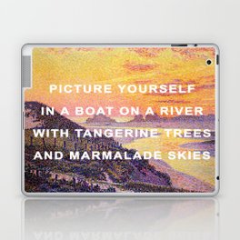 Sunset in the Sky with Diamonds Laptop & iPad Skin