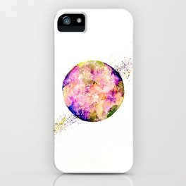 Flower planet iPhone Case