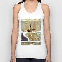 boat Tank Tops featuring Boat by Menchulica