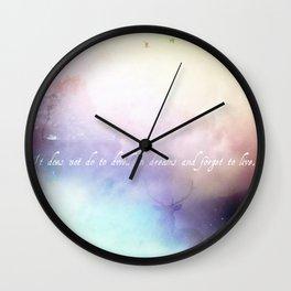 Dwell Wall Clock