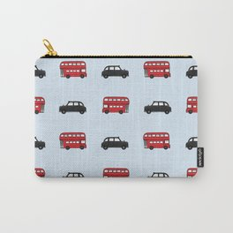 London Buses and Taxis Carry-All Pouch