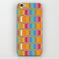 nordic iPhone & iPod Skins featuring Nordic Knit by Joan McLemore