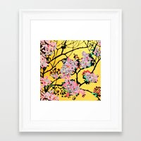 blossom Framed Art Prints featuring Blossom by marlene holdsworth