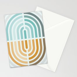 Capsule III - Opposing arches Stationery Cards