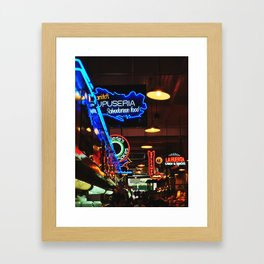 Grand Central Market Framed Art Print