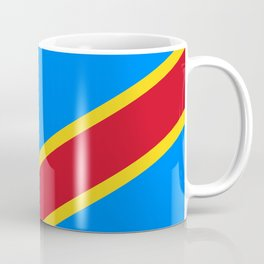 National flag of the Democratic Republic of the Congo, Authentic version (to scale and color) Coffee Mug