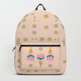 Vanilla Ice Cream Backpack