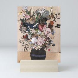 Bouquet de fleurs sauvages Mini Art Print