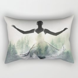 Forest Dancer Rectangular Pillow