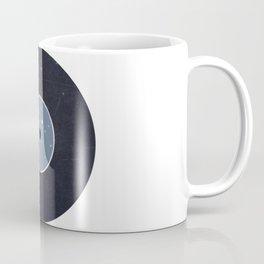 Vinyl Record Star Sign Art | Aquarius Coffee Mug