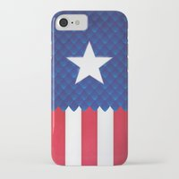 america iPhone & iPod Cases featuring America by gallant designs