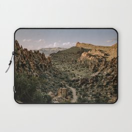 Balanced Rock Valley View in Big Bend - Landscape Photography Laptop Sleeve