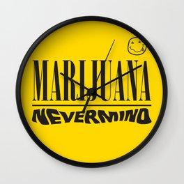 Marijuana nirvana Wall Clock